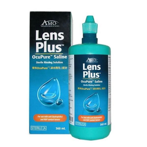 AMO Lens Plus OcuPure Saline Visique Liquids
