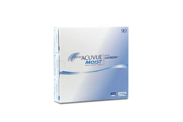Acuvue Moist 90Pack 580 290 Visique Contacts