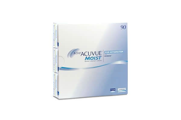 Acuvue Moist For Astigmatism 90Pack 580 290 Visique Contacts