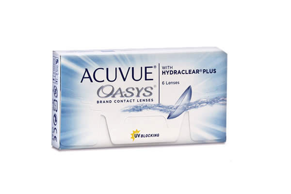 Acuvue Oasys 580 290 Visique Contacts