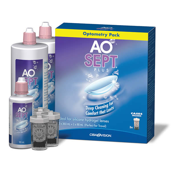 Aosept Plus Optometry Pack Visique High And Main Hutt