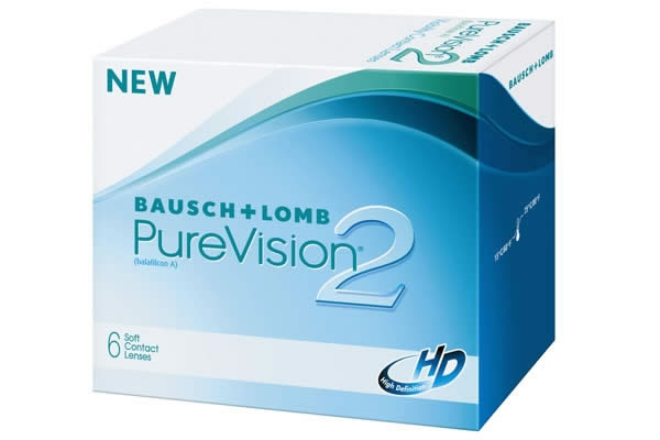 Bausch And Lomb Purevision2hd Visique Contacts