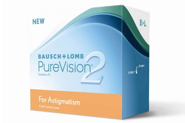 Bausch And Lomb Pv2 Toric Visique Contacts