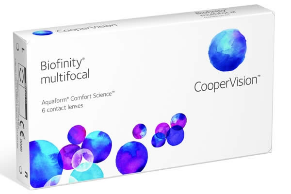 Cooper Biofinity Multifocal Visique Contacts