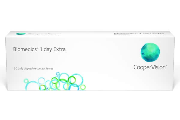Cooper Biomedics 1Day Visique Contacts