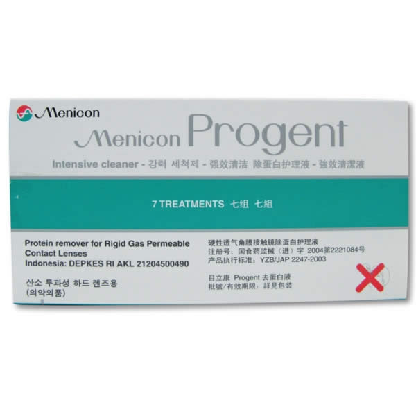 Menicon Progent Visique Liquids