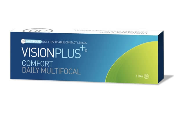 Visionplus Comfort Daily Multifocal Visique Contacts