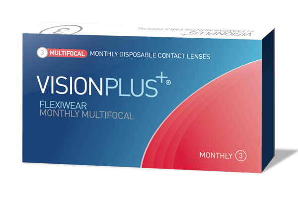 Visionplus Flexiwear Monthly Multifocal Visique Contacts