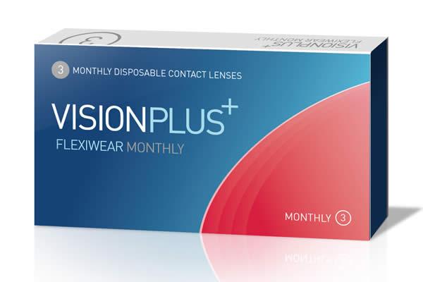 Visionplus Flexiwear Monthly Visique Contacts