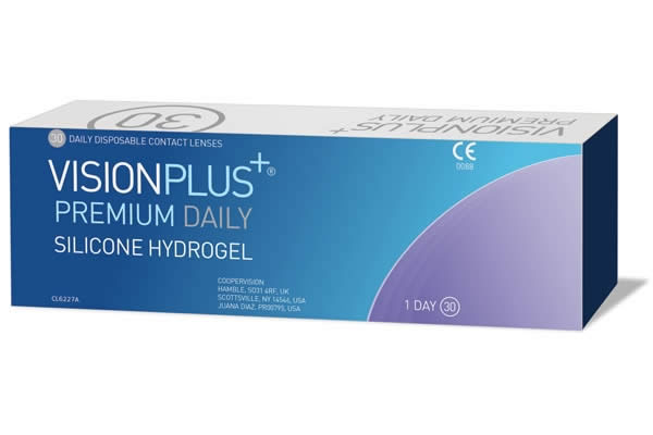 Visionplus Premium Daily Visique Contacts