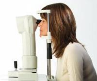 Corneal Test Left Visique Hutt Optometrist Eyecare