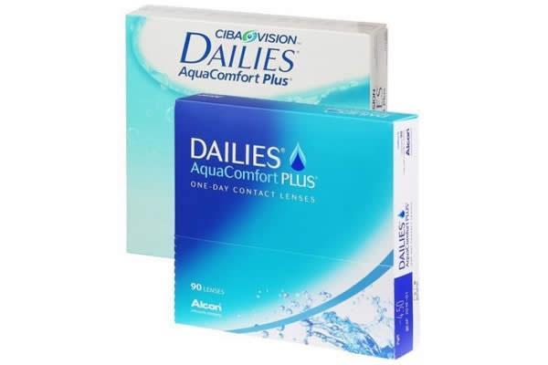 Dailies Aquacomfort Plus 90 Visique