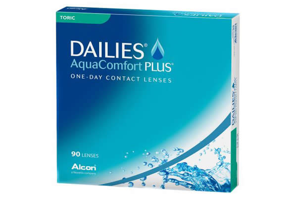 Dailies Aquacomfort Plus Toric 90 Visique