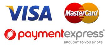 Visa Mastercard Stacked Logo