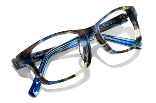prodesign frames and visique hutt expertise match the best frames with superb lenses for stylish