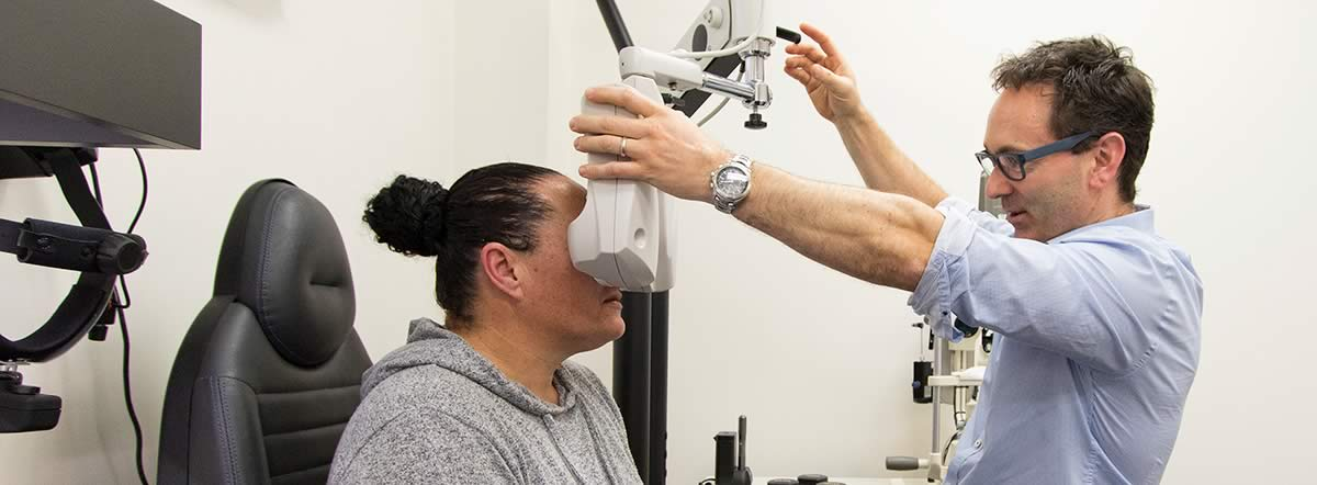 Nick Burbery - Eye Test - Visique Optometrists Hutt