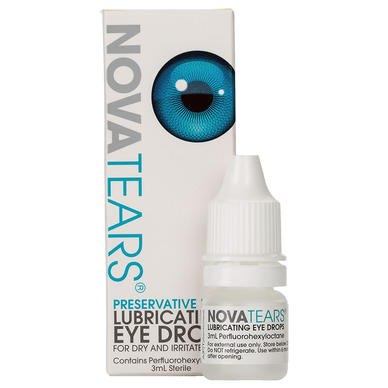 NovaTears Eye Drops Visique Hutt