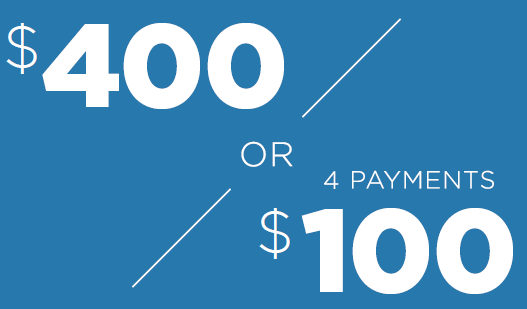 Afterpay 400 Or 100