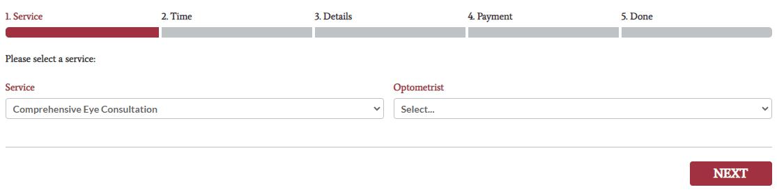 Make Appointment Desktop